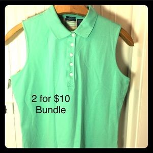SALE 2 for $10 Bundle Knit T-shirt by Izod XL